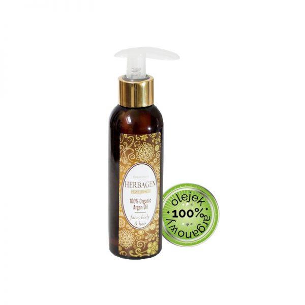 100% organiczny olejek arganowy do masażu