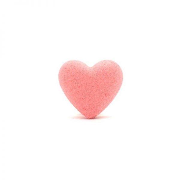 Serce do kąpieli soczysta truskawka