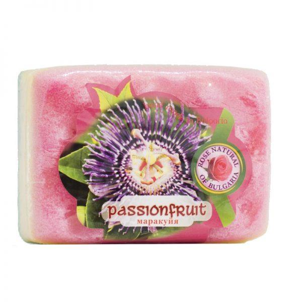 Peelingujące mydło-gąbka marakuja