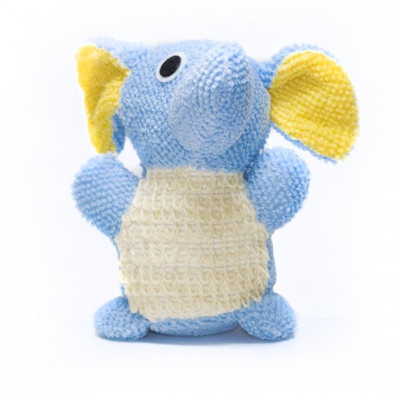 Gąbka do kąpieli dla dzieci słonik