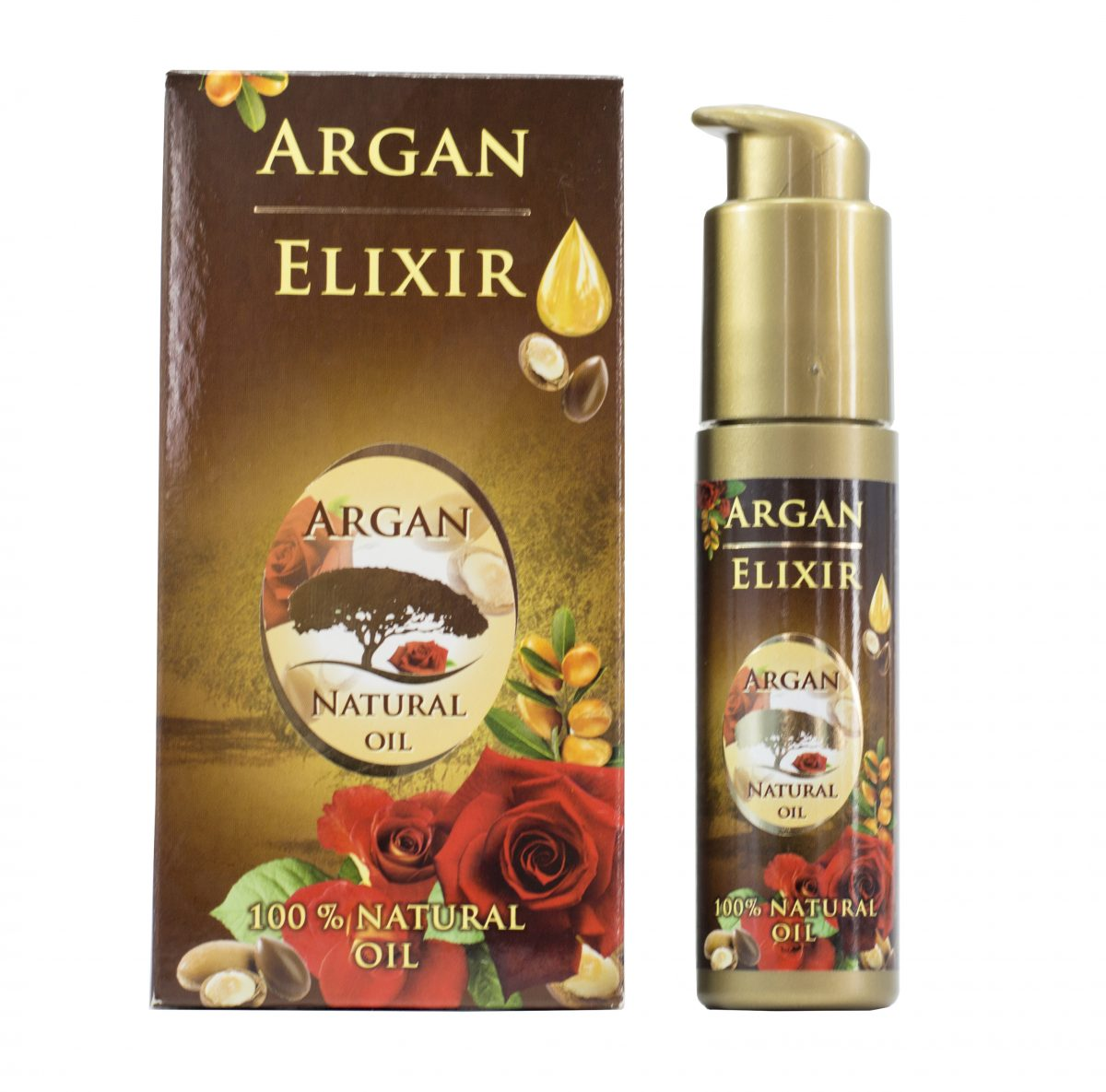 Olejek arganowy Argan & Rose, 40 ml