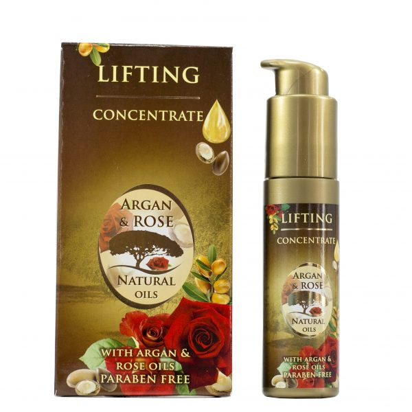 koncentrat liftingujacy argan rose