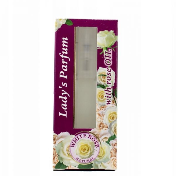 Perfumy 8 ml White Rose