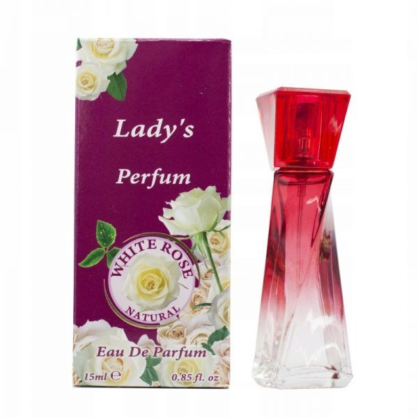 Perfumy 15 ml White Rose