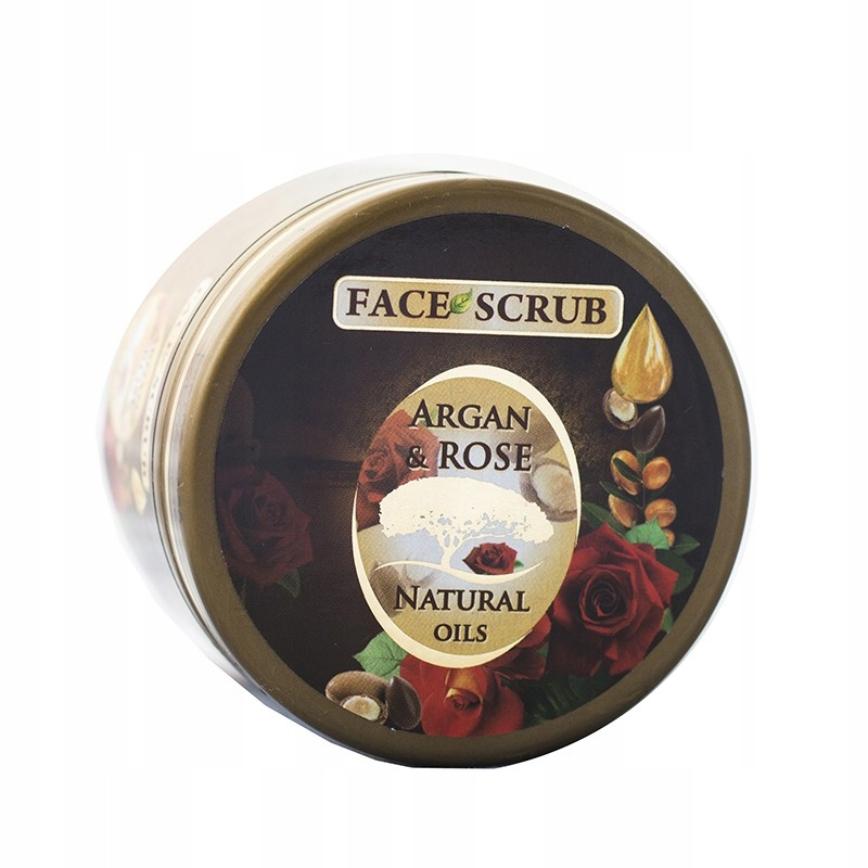 Peeling do twarzy Argan & Rose