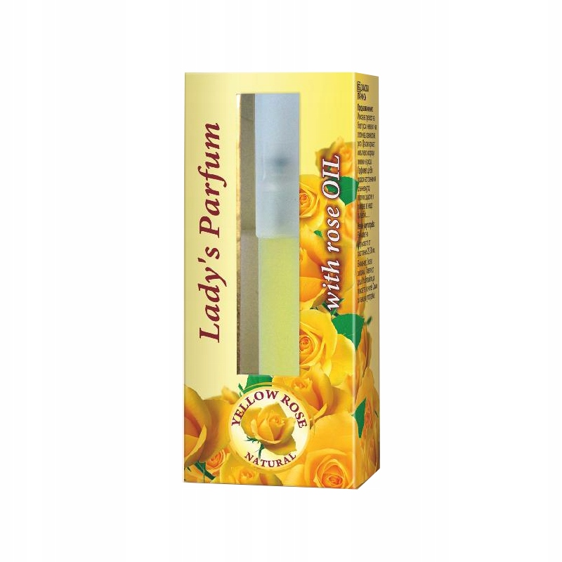 Perfumy 8 ml Yellow Rose